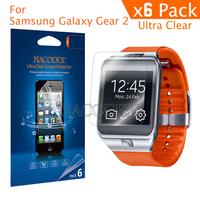2014 New For Samsung Galaxy Gear 2 Nacodex Ultra Clear Screen Protector protective front Pelicula Protetora Transparente film