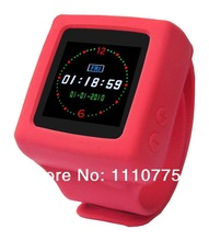 Wearable Electronic Device Deca MP4 watch AD666 watch music touch screen smart watches FM recording electronic