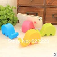 Free Shipping Wholesale Creative Cute Elephant Shape Phone Holder,Elephant Nose Phone Holder,Handheld Computer Stand~