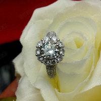 Sona Diamond Ring Woman Ring Wnique Wedding Ring Designs Engraved Promise Rings Semi Mount Ring Settings Silver Ring 925 Women