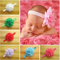 10pcs/lot Girls Lace Headband Baby Chiffon Flower Headband Infant Baby Hair Accessories baby's Gift