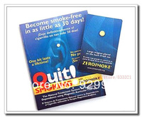 3pcs Personal Quit zero Smoking cessation Zerosmoke Patch Healthy Care Auricular Magnet Therapy Chemicals pills Retail Package
