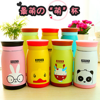 Free shipping 3608 cartoon big women's stainless steel vacuum cup thermos bottle child water cup