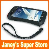 Original LOVE MEI Powerful Small Waist Waterproof Dirtproof Shockproof Fullbody Protector Case For Samsung Galaxy Note 2 N7100