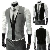 New 2014 High Quality Slim Men's Casual Vest Tank Tops Men Vest Undershirt Beer For Men Singlet
