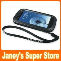 Original LOVE MEI Powerful Case Waterproof Dirtproof Shockproof Fullbody Protector Case For Galaxy S3 i9300