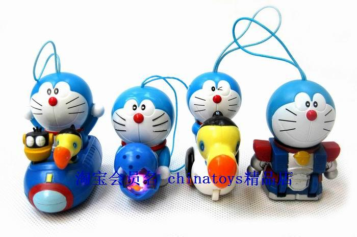 Lamp heterochrosis DORAEMON doll WARRIOR car 5(China (Mainland))