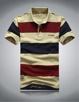 Wholesale & Retail Good Quality 2014 New Style 100% cotton men t shirt Men's Fashion Short Sleeve Tee T Shirts Free Shipping