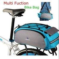 ROSWHEEL New Cycling Bicycle Bag Bike Outdoor Travel Rear Seat Bag Pannier 13L  Multipurpose shelf pack pack + bag and hand bag