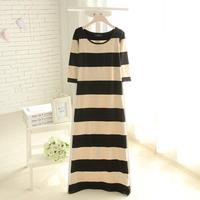 Fashion women's 2014 summer long design one-piece dress full dress