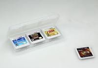 Blackhorns 6 in 1 Card Box for 3DS/3DSLL - Retail Packaging - White