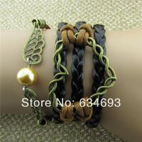 Fashion simple heart wings Friendship Bracelet
