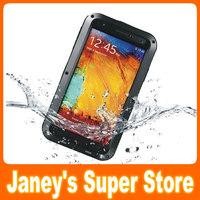 Original LOVE MEI Powerful Case Waterproof Dirtproof Shockproof Fullbody Protector Case For Galaxy note 3 N9000