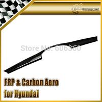FOR Hyundai Veloster Carbon Fiber Front Bumper Grill Cover Gamma Fit Turbo Only TCi GDi MPi