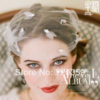 Free shipping!New Bridal Birdcage Veil, Party Headdress, drill veil ,Wedding Accessory vintage ornament