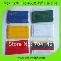 ( 12000pcs / lot ) Velcro Microphone Cable Tie Straps Mic Computer Cord Wraps 10pcs per pack