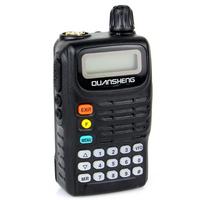 QuanSheng TG-6A  FM Radio Walkie Talkie Cable Clone VOX 5W VHF 136-174MHz FM Radio Two Way Radio A1072AVHF