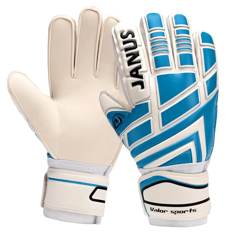 Gloves Professional belt janus football goalkeeper gloves Free shipping(China (Mainland))