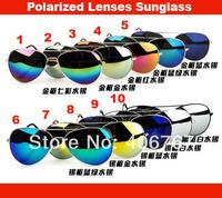 Wholesale Free Shipping Fashion Sunglass Vintage Eyeglasses Women Men Polarized Sun Glass Lenses Sunglasses 500PCS/lot
