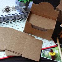 Free Shipping DIY Kraft Card Scrapbooking Paper Christmas Postcard Greeting Postcards Shaper Punch Craft 40pcs postcard
