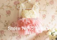 NEW ! 2015 summer girl lace tutu dress , girl tutu dress , 5pcs/lot