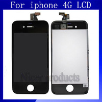 LCD Replacement For iphone 4 4G 4S 4GS LCDs With Touch Screen Display Black&White