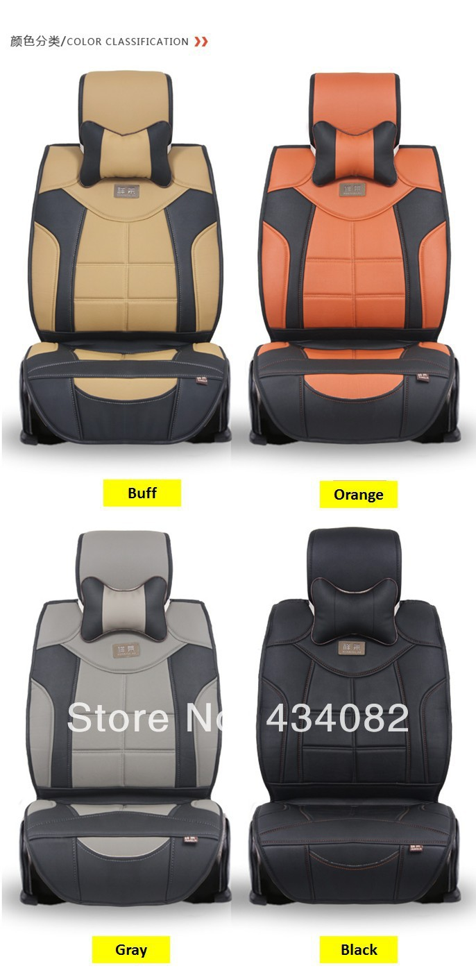 5 Seat Cover Top Soft Luxury Manual Leather Car Seat Cover
