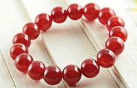 Natural red agate bracelet quality goods Fashion lovers who act the role ofing has functions to promote refill health 12MM