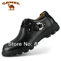 New arrival authentic camel casual men's  genuine lather shoes    2033018  two colors  free shipping