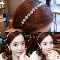 New 2014 Hot Women Wedding Hair Accessories Crystal  Hairbands Hair Jewelry Fashion Star Headbands  F088