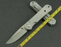 FAST FREE SHIPPING MINI Chris Reeve Style STONE WASHED Blade Folding Pocket knife CR01