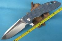 FAST FREE SHIPPING New Hinderer XM-18 Dark Bule G-10 Handle Pocket Folding Dark-Bule--FXM18 Knife