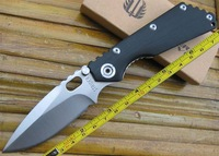 FAST FREE SHIPPING Carving CNC G10 Handle Strider SMF SNG Folding Pocket Knife ST48