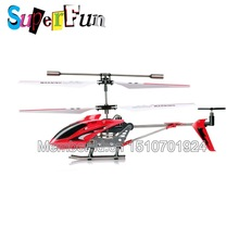 Wholesale Syma S107 red 22cm 3CH Mini Remote Control Helicopter RTF Free Shipping