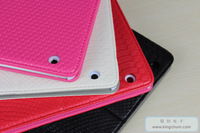 4 Colors Rich Boss for iPad 4 iPad 3 iPad 2 Folding cover Magnetic Leather case with Sleep/Wake function Hard shell Freeshipping