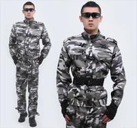 101st Airborne Division outdoor camouflage fatigues tooling camouflage suit snow camouflage training uniform male S-XXL