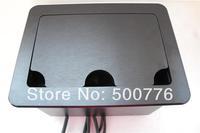 2014  ZSFFCC- 2  power  Big Cover-sliding Type Hidden Desk Socket