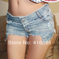 2014 New Sexy  Hot Pant Hipster Low Waist Daisy DS Vintage Jeans Denim Short Shorts for Women 4070814