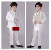 2014 new  Flower children's clothing Boys dress suit Stage performances clothing boy 6 set