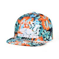 2014 new spring flowers Ping Yan baseball hat Korean fashion beauty printing letters hip-hop cap