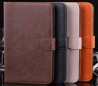 Luxury Wallet Flip stand cover For Galaxy Tab 3 Lite 7.0 New credit card slots For Samsung T110 T111 flat protective case