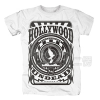 2014 autumn hollywood undead mask metal fashion t-shirt