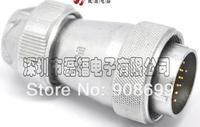 Aviation plug industrial plug the LED display screen plug WF32 10 core TE Type, waterproof