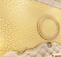 Thicken Luxury Gold Foil Embossed  Wallpaper Decorative Ambilight Glitter  Arts Background Rolls 10m papel parede quarto