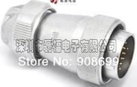 Aviation plug industrial plug the LED display screen plug WF32 8 core TE Type, waterproof