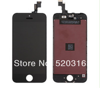 Free Shipping By DHL For iPhone 5S original LCD display Digitizer Screen Assembly 100% tested (Black)