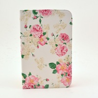Cute Cartoon Owl Birds Flower Floral tribal Style PU Leather Case Cover For Samsung Galaxy Tab 2 7.0 P3100 P3110 P3113