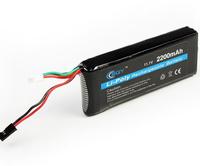 New High Performance of Lithium Lipo battery 3S 11.1 V 2200 mAh 8C JR Futaba BEC BQY  Transmitter Batteries for RC Toy
