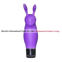 100% Waterproof  Velvet Smooth Rabbit  Vibrators Bullet Female Massage Sex Toys Adult Products VV050