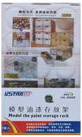 U-STAR Mini Paint Bottle Storage Rack, UA-90069, For Holding 15 Bottles or More